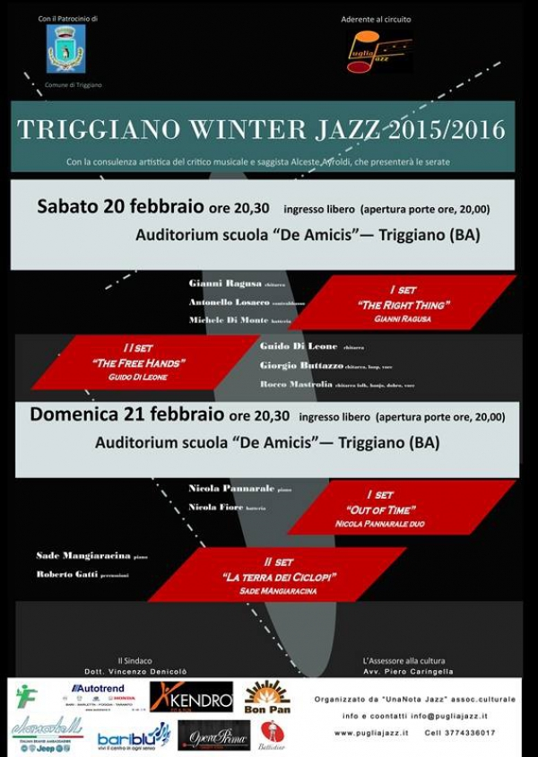 Treggiano Winter Jazz 2016