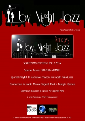 Giorgia Romeo conduce By Night Jazz